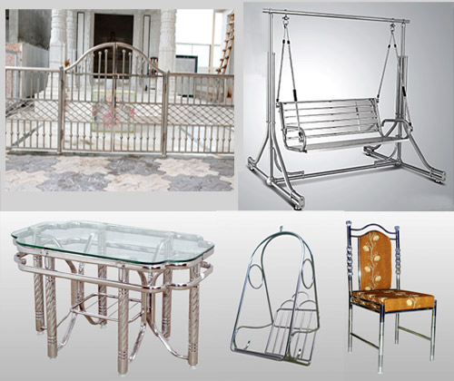 SS Furniture SS Chair - SS Table, SS Swing (Jhulla) - SS Gate Others Required of Customer Need