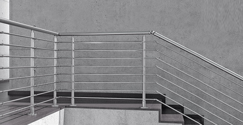 Stainless Steel Balustarde Horizontal Stair Railing
