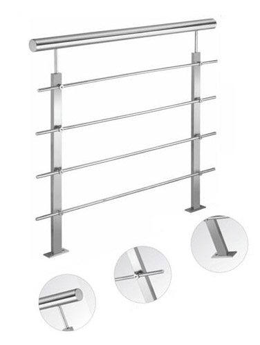 SS Horizontal Railing Design