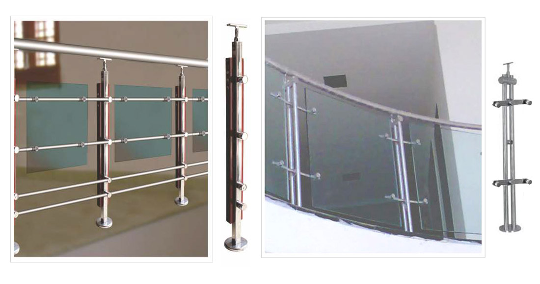 Stainless Steel Modular Horizontal  Railings